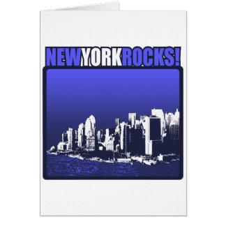 New York Rocks! Card