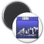 New York Rocks! Fridge Magnets