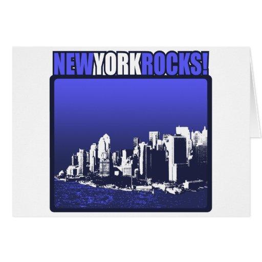 New York Rocks! Greeting Card