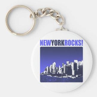 New York Rocks! Keychain
