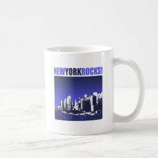 New York Rocks! Coffee Mugs