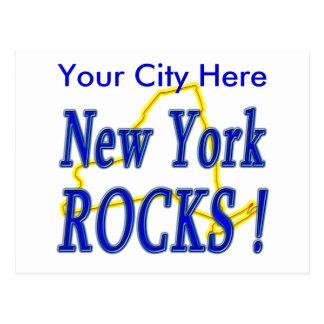 New York Rocks ! Postcard