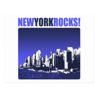 New York Rocks! Postcard
