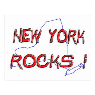 New York ROCKS Postcard