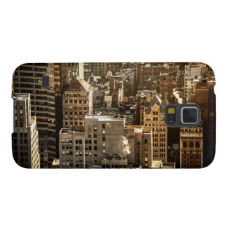 New York Rooftops - Skyscrapers in Sunlight Galaxy S5 Cover