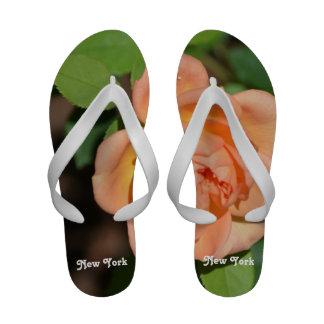 New York Rose Flip-Flops