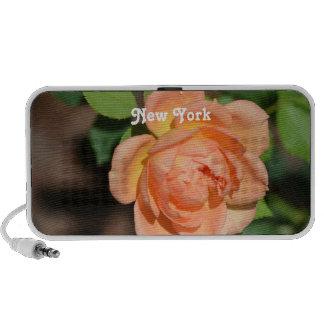 New York Rose Mp3 Speakers
