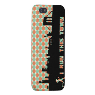New York Runner I Run This Town iPhone Case Covers For iPhone 5