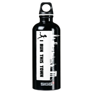 New York Runner I Run This Town SIGG Traveler 0.6L Water Bottle