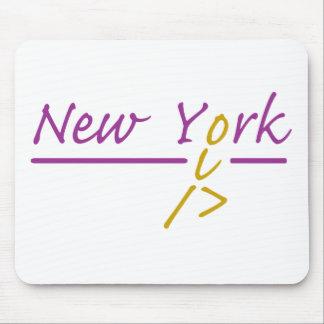 New York runner Mouse Pad