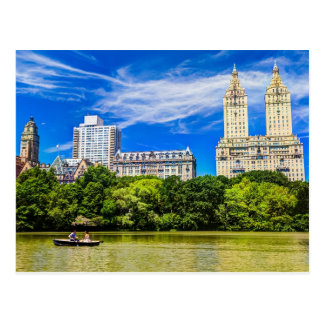 New York s Central Park in the Summertime Postcard