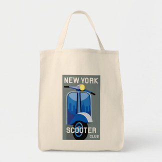 New York Scooter Club Sack Tote Bag