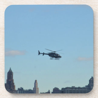 New York Sightseeing Helicopter Beverage Coaster
