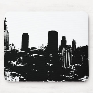 New York Silhouette Mouse Pad