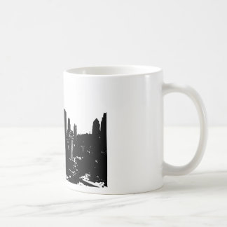 New York Silhouette Coffee Mug