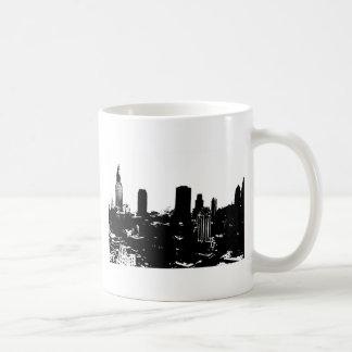 New York Silhouette Coffee Mugs