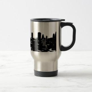 New York Silhouette Travel Mug