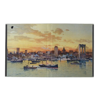 NEW YORK SKYLINE 1896 iPad CASE