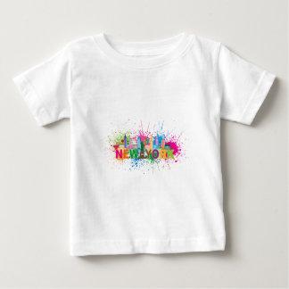 New York Skyline Abstract Color Illustration T Shirt