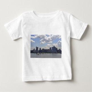 New York Skyline and Boat Tee Shirt