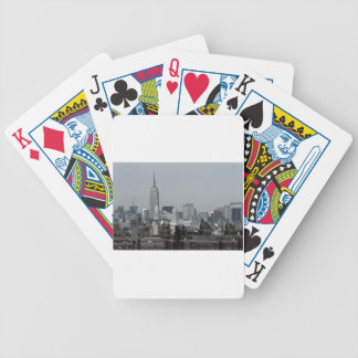 New York Skyline and Brooklyn Bicycle Playing Cards