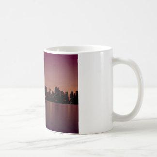 New York Skyline at Dusk Mug
