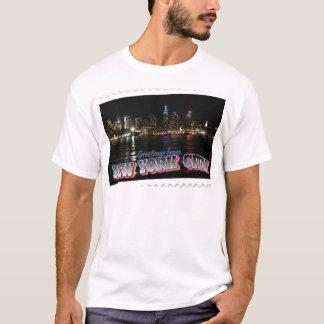 New York Skyline at Night Empire State T-Shirt