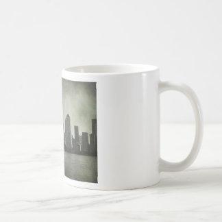new york, skyline, B&W, vintage Coffee Mug