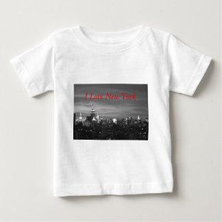 New York Skyline Baby T-Shirt