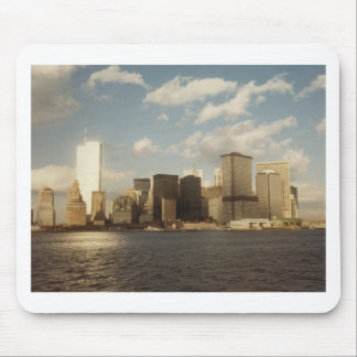 New York Skyline Before 9/11  Twin towers Mouse Pad