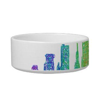 New York skyline Bowl