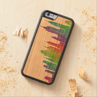 New York skyline Carved Cherry iPhone 6 Bumper Case