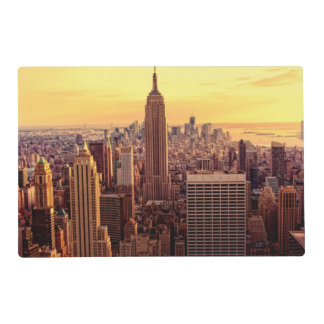 New York skyline city with Empire State Placemat