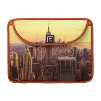 New York skyline city with Empire State Sleeve For MacBooks