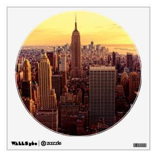 New York skyline city with Empire State Wall Skin