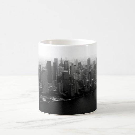 New York Skyline Classic White Coffee Mug