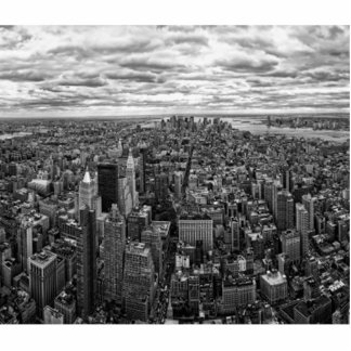 New York Skyline Cutout
