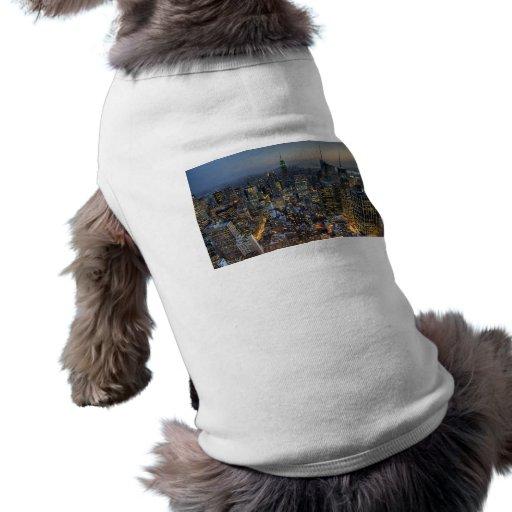 New York Skyline Doggie T-shirt