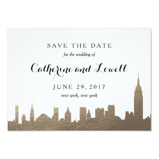 City Skyline Invitations Announcements Zazzle