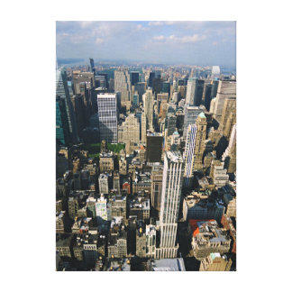 New York Skyline from Empire State Building Canvas Canvas Print