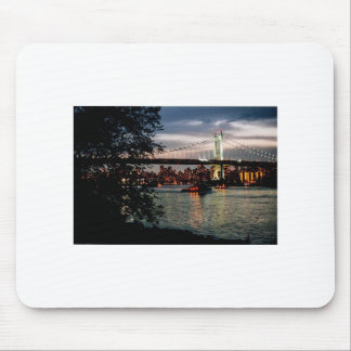 New York Skyline from Queens Mouse Pad