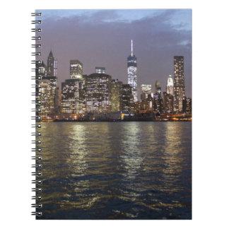 New York skyline Hudson River World Trade Center