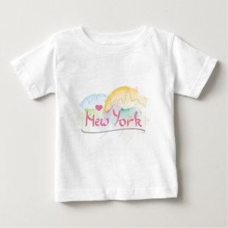 "New York Skyline ""I love you"" with heart Tshirt"