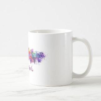 New York skyline in watercolor Coffee Mug