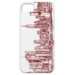 New York skyline iPhone 5 Case