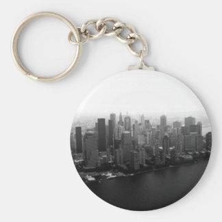 New York Skyline Keychain