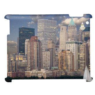 New York Skyline Manhattan Hudson iPad Cover