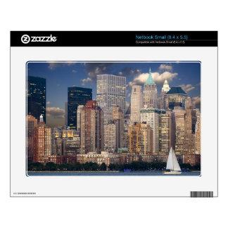 New York Skyline Manhattan Hudson Netbook Decal