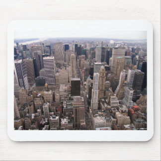 New York Skyline Mouse Pad
