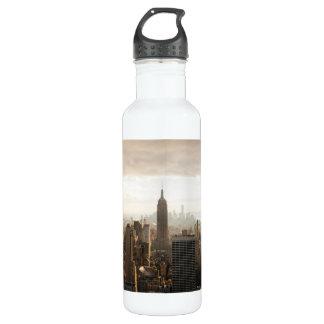 New York skyline 24oz Water Bottle